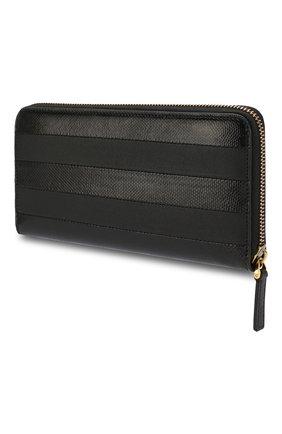 Женские кожаный кошелек valentino garavani VALENTINO черного цвета, арт. SW2P0645/SAW | Фото 2