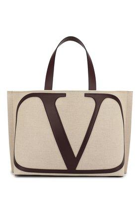 Сумка-шоппер Valentino Garavani Go Logo | Фото №1