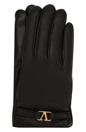Кожаные перчатки Valentino Garavani | Фото №1