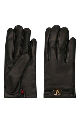 Кожаные перчатки Valentino Garavani | Фото №2
