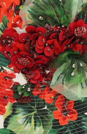 Женская хлопковая шляпа DOLCE & GABBANA разноцветного цвета, арт. FH427Z/HS5CL | Фото 3