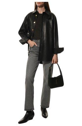 Женские кожаные ботинки jonas SAINT LAURENT черного цвета, арт. 582075/1G500 | Фото 2