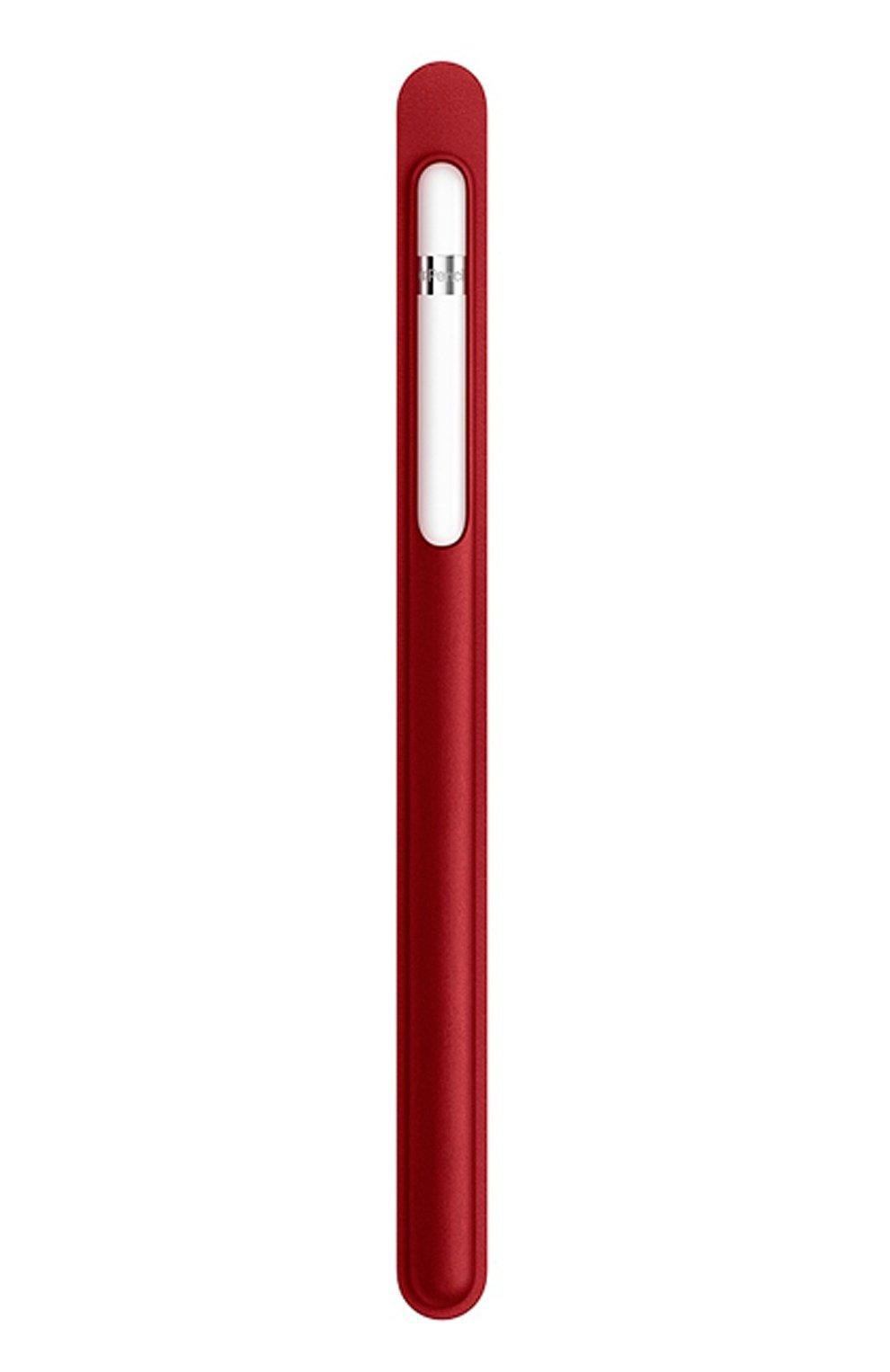 Чехол для apple pencil APPLE  красного цвета, арт. MR552ZM/A | Фото 3