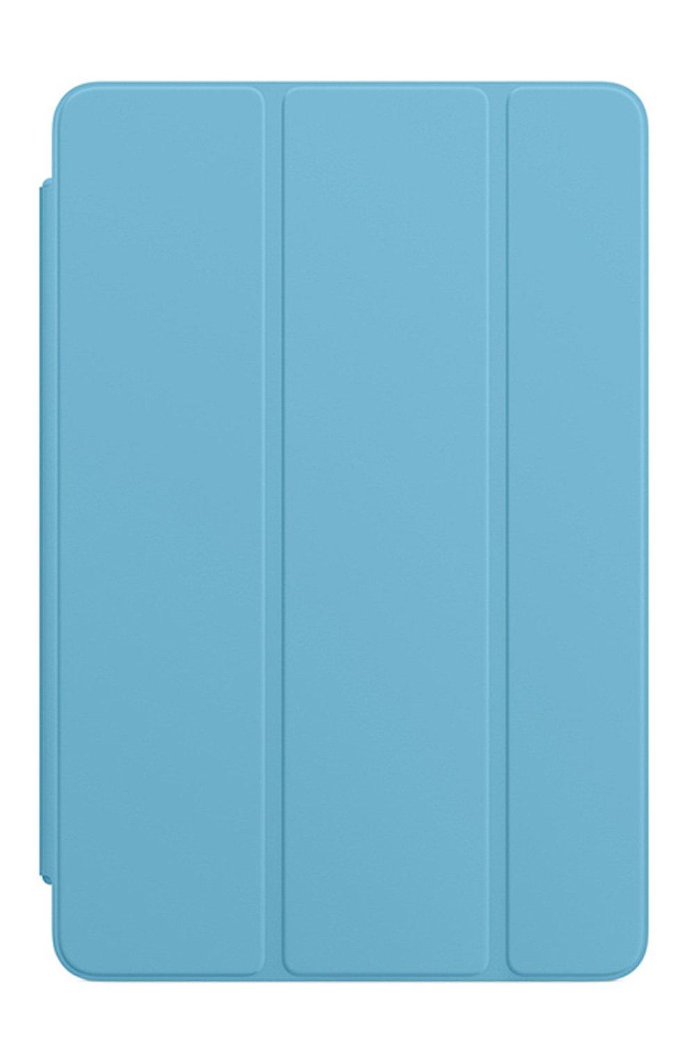 Мужской чехол smart cover для ipad mini APPLE  голубого цвета, арт. MWV02ZM/A | Фото 1