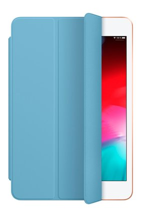 Мужской чехол smart cover для ipad mini APPLE  голубого цвета, арт. MWV02ZM/A | Фото 2