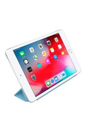 Мужской чехол smart cover для ipad mini APPLE  голубого цвета, арт. MWV02ZM/A | Фото 3