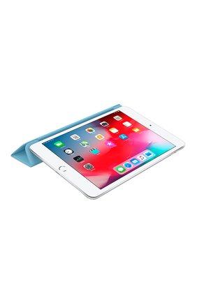 Мужской чехол smart cover для ipad mini APPLE  голубого цвета, арт. MWV02ZM/A | Фото 4