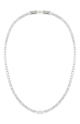 Женское колье tennis deluxe SWAROVSKI серебряного цвета, арт. 5494605 | Фото 1