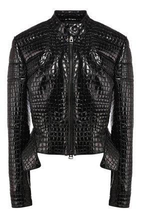 Куртка из кожи крокодила | Фото №1