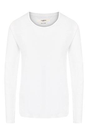 Женская льняной лонгслив ISABEL MARANT ETOILE белого цвета, арт. TS0404-00M004E/KAAR0N   Фото 1