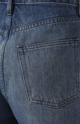 Женские джинсовые шорты 3X1 голубого цвета, арт. WSX4S0866/FIN0LA   Фото 5