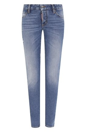Женские джинсы DSQUARED2 синего цвета, арт. S72LB0215/S30667 | Фото 1