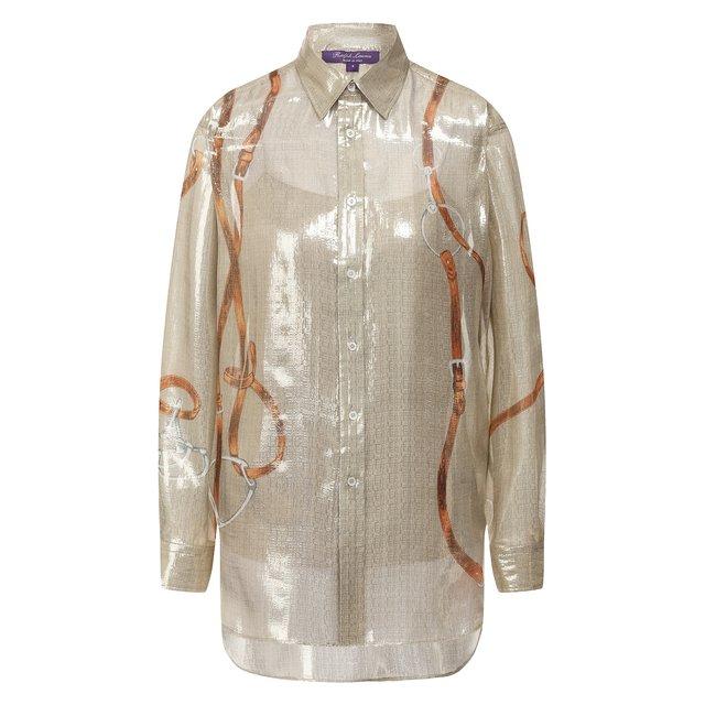 Блузка с принтом Ralph Lauren