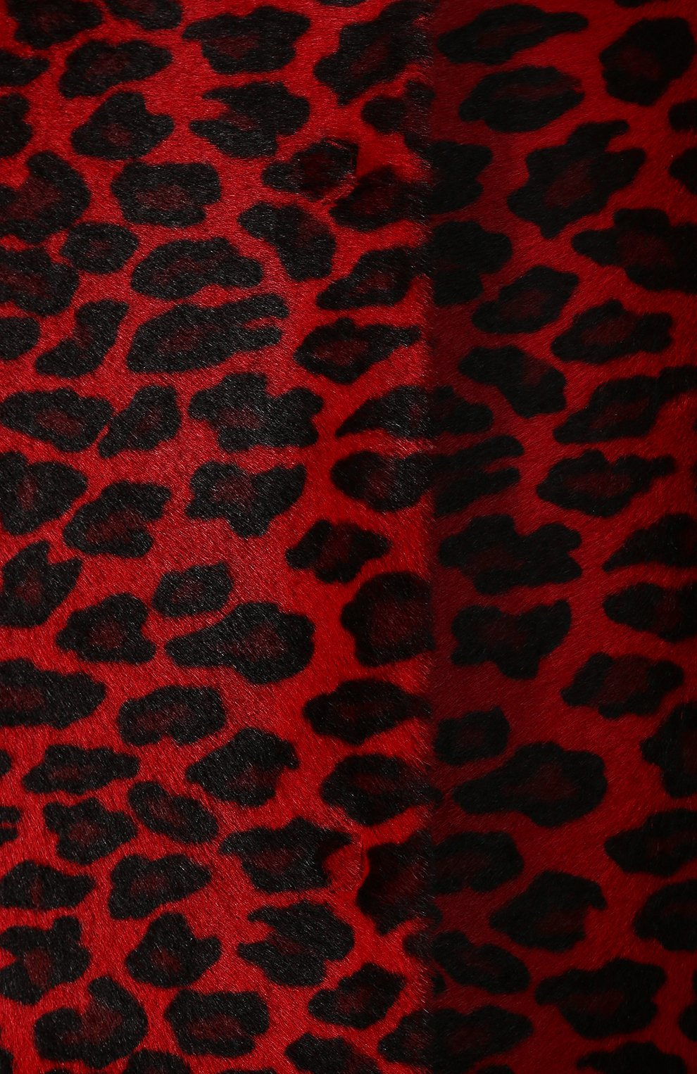 Женское меховое пальто DROME красного цвета, арт. DPD5653P/D1684P | Фото 5