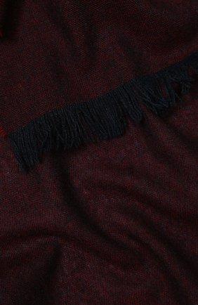 Мужской кашемировый шарф KITON бордового цвета, арт. USCIACX02S53 | Фото 2