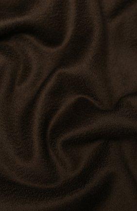 Мужской кашемировый шарф KITON коричневого цвета, арт. USCIACX02S51 | Фото 2