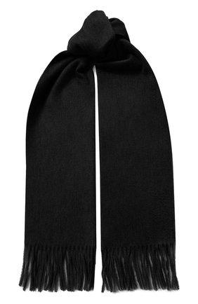 Мужской кашемировый шарф KITON темно-синего цвета, арт. USCIACX02S51 | Фото 1