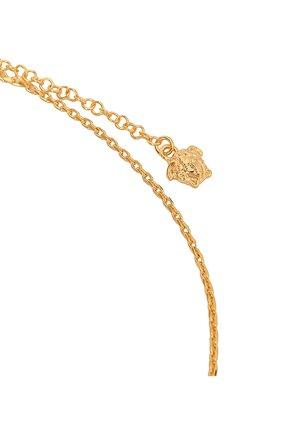 Мужского цепь с кулоном VERSACE золотого цвета, арт. DG17488/DJMS | Фото 3