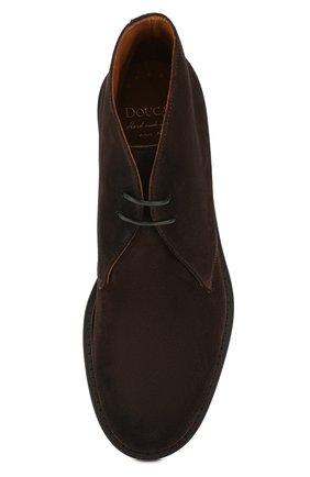 Мужские замшевые ботинки DOUCAL'S темно-коричневого цвета, арт. DU12470TTAUF024TM00   Фото 5