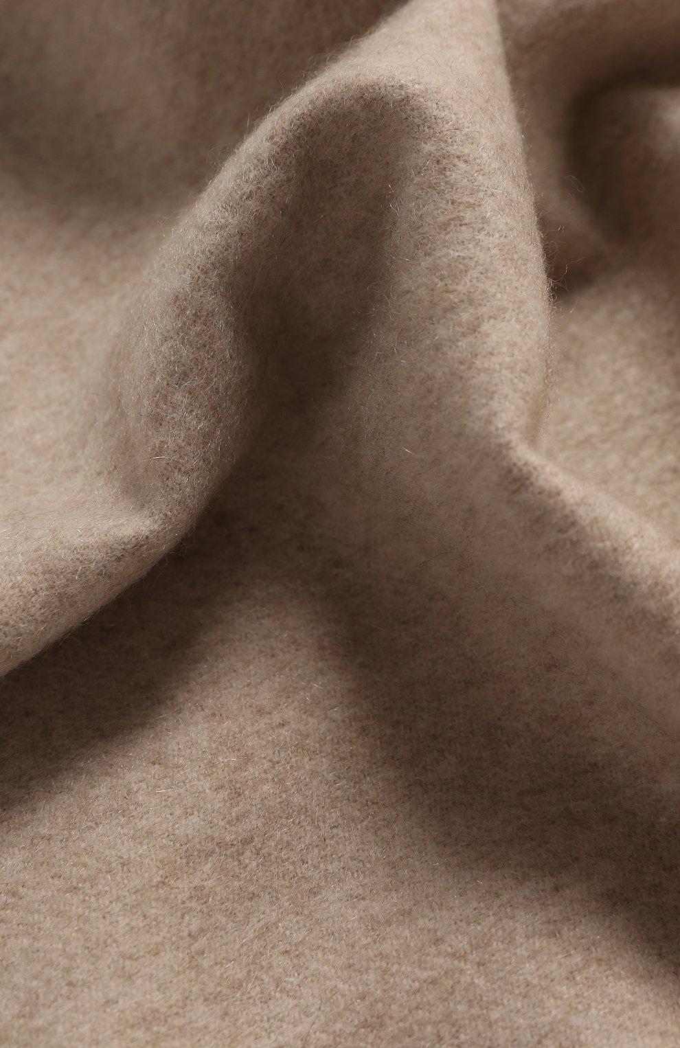 Мужской кашемировый шарф CORTIGIANI бежевого цвета, арт. 711161/0000 | Фото 2