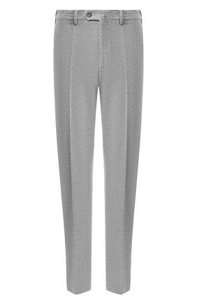 Мужские хлопковые брюки LORO PIANA серого цвета, арт. FAG4236 | Фото 1