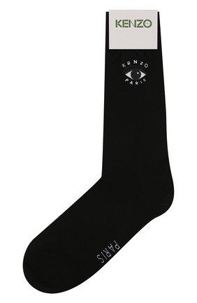 Мужские хлопковые носки KENZO черного цвета, арт. F958SM240JSB | Фото 1