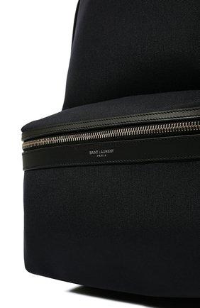 Мужской текстильный рюкзак city SAINT LAURENT темно-синего цвета, арт. 534967/GIV3F   Фото 2
