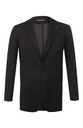 Пиджак из смеси хлопка и шерсти | Фото №1