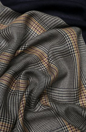 Мужской шарф из кашемира и шелка LORO PIANA темно-синего цвета, арт. FAI7518 | Фото 2