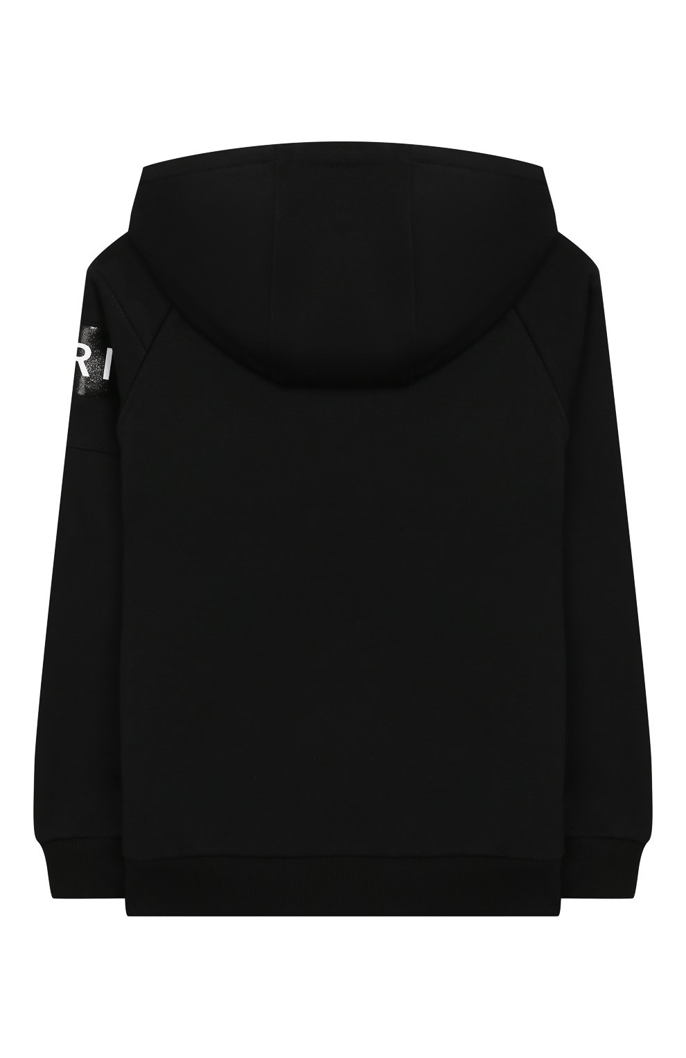 Хлопковый кардиган с капюшоном Givenchy черного цвета | Фото №2