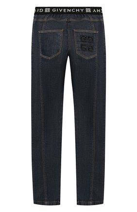 Детские джинсы Givenchy темно-синего цвета | Фото №2