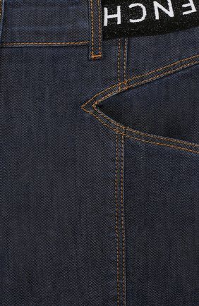 Детские джинсы Givenchy темно-синего цвета | Фото №3