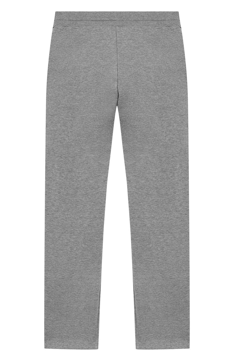 Хлопковые брюки Givenchy серого цвета   Фото №2
