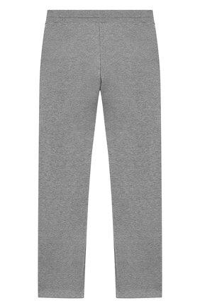 Детские хлопковые брюки GIVENCHY серого цвета, арт. H14061 | Фото 2