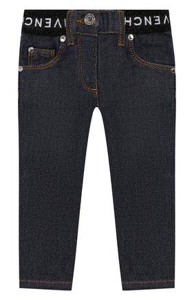 Детские джинсы GIVENCHY синего цвета, арт. H04061 | Фото 1
