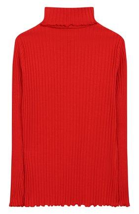 Детская хлопковая водолазка IL GUFO красного цвета, арт. A19TA061M7004/2А-4А | Фото 2