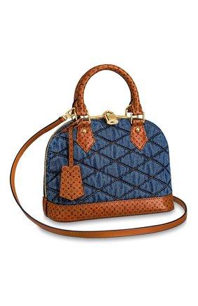 Женская сумка alma bb LOUIS VUITTON синего цвета, арт. M55048 | Фото 1