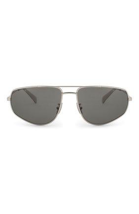 Женские солнцезащитные очки CELINE EYEWEAR серебряного цвета, арт. CL40083U 16A | Фото 3