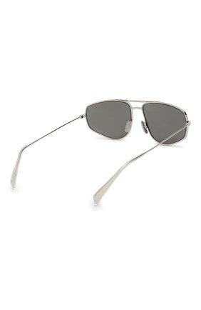 Женские солнцезащитные очки CELINE EYEWEAR серебряного цвета, арт. CL40083U 16A | Фото 4