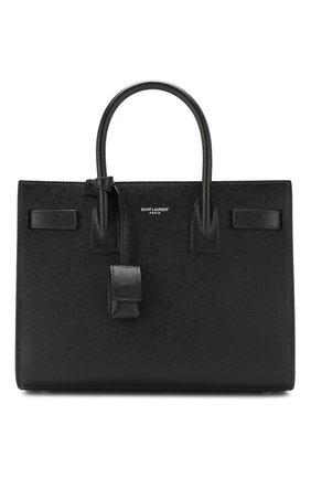 Женская сумка sac de jour baby SAINT LAURENT черного цвета, арт. 421863/B0WEN | Фото 1
