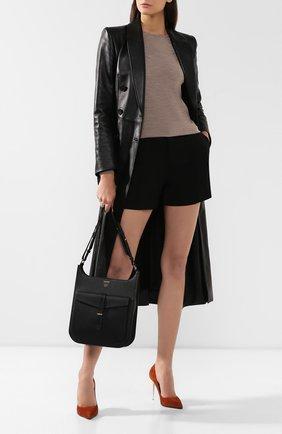 Женская сумка t twist medium TOM FORD черного цвета, арт. L1206T-LCL008   Фото 2