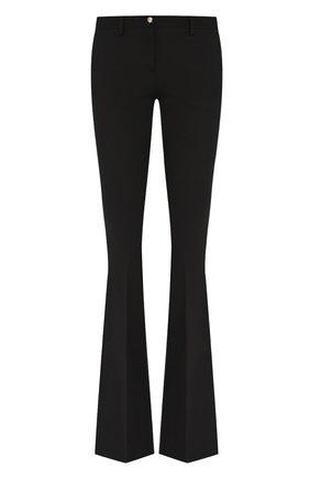 Женские расклешенные брюки PHILIPP PLEIN черного цвета, арт. WRT0691 | Фото 1