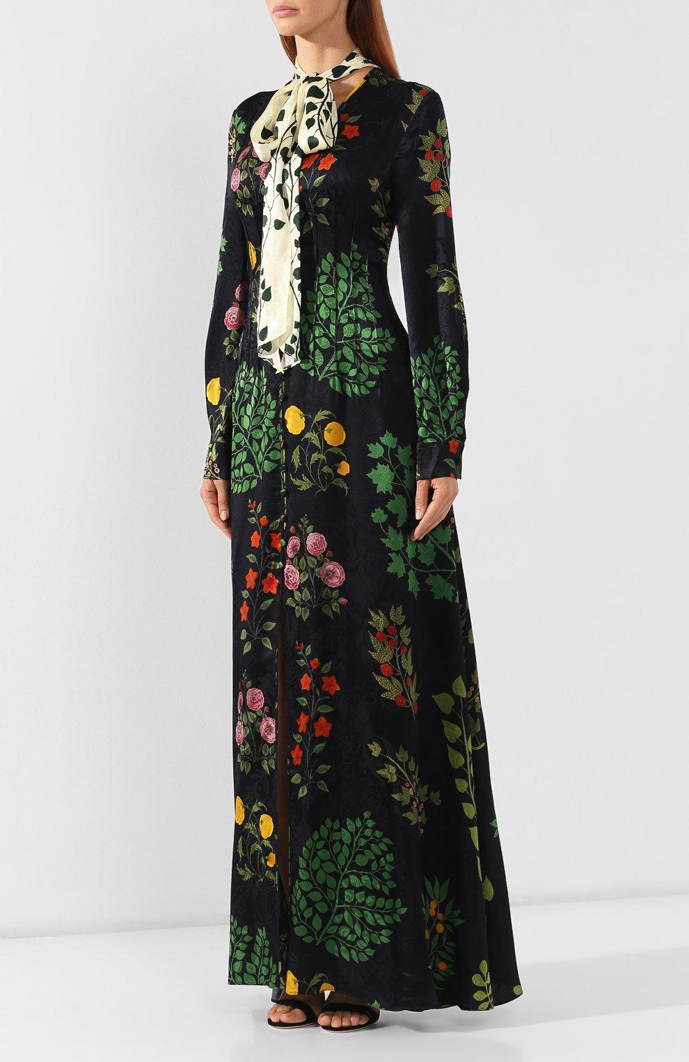 Шелковое платье   Фото №3