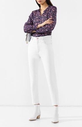 Женские джинсы ISABEL MARANT ETOILE белого цвета, арт. PA1361-19A022E/NEAJ   Фото 2