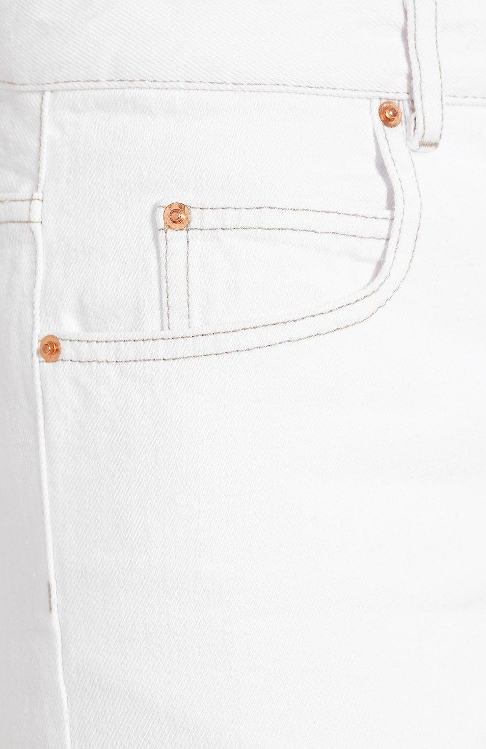 Женские джинсы ISABEL MARANT ETOILE белого цвета, арт. PA1361-19A022E/NEAJ   Фото 5