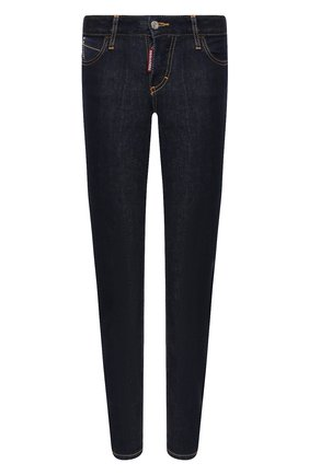 Женские джинсы DSQUARED2 синего цвета, арт. S75LB0228/S30595 | Фото 1