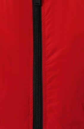 Женский пуховый бомбер DSQUARED2 красного цвета, арт. S75AM0686/S52109 | Фото 5