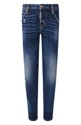 Женские джинсы DSQUARED2 синего цвета, арт. S72LB0214/S30663 | Фото 1
