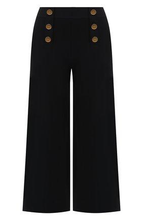Женские укороченные брюки STELLA MCCARTNEY синего цвета, арт. 573726/S2076   Фото 1