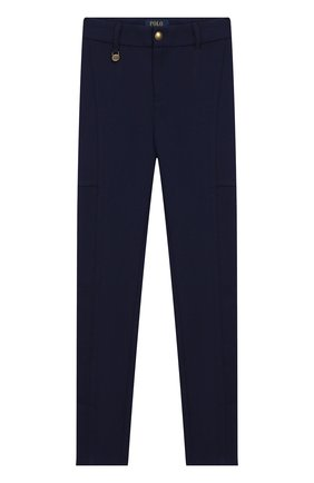Детского брюки POLO RALPH LAUREN темно-синего цвета, арт. 312750857 | Фото 1